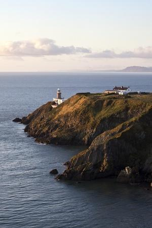 A Lighthouse on a Hill; Ireland-Design Pics Inc-Photographic Print