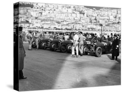 A Line of Alfa Romeos at the Monaco Grand Prix, 1934