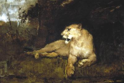 A Lioness, C1867-1910-John Macallan Swan-Giclee Print