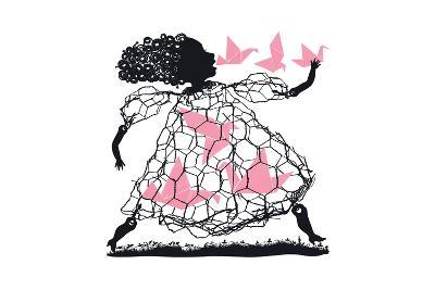A Little Bird Told Me-Melinda Beck-Art Print