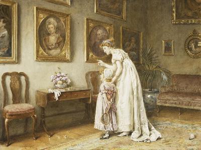 A Little Family History-George Goodwin Kilburne-Giclee Print