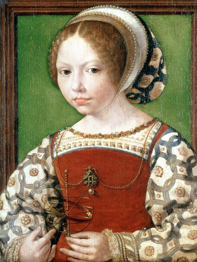 A Little Girl, C1520-Jan Gossaert-Giclee Print