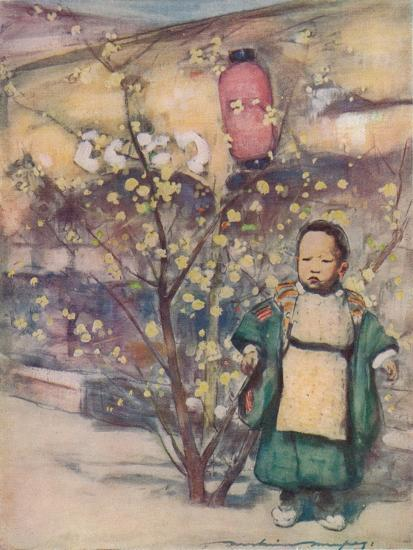 'A Little Japanese Boy', c1887, (1901)-Mortimer L Menpes-Giclee Print