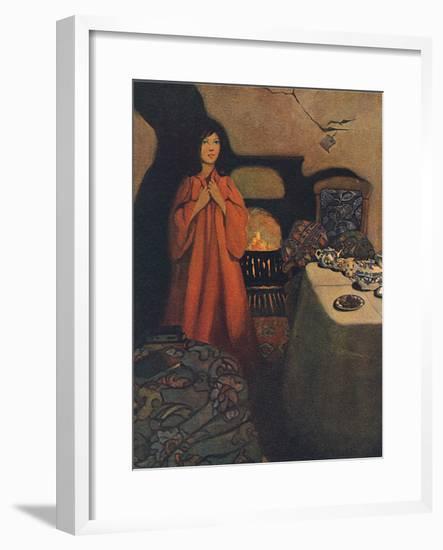 A Little Princess, Burnet-Ethel Franklin Betts-Framed Giclee Print