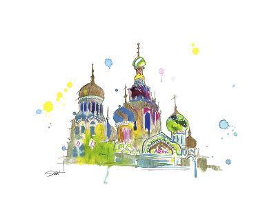 A Little Slice of Russia-Jessica Durrant-Art Print