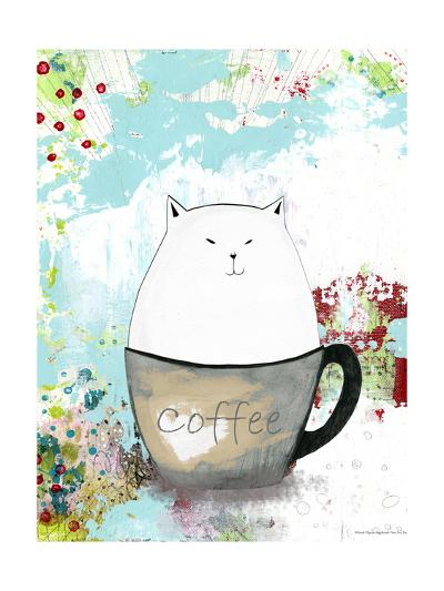 A Little Sugar in My Coffee-Sarah Ogren-Art Print