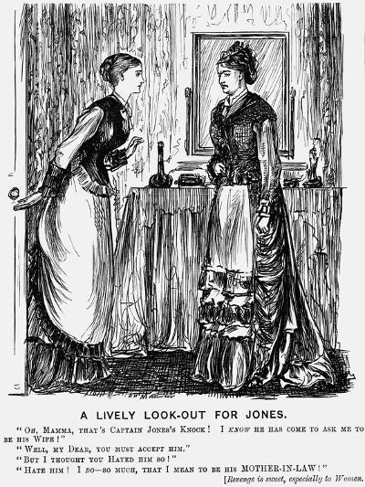 A Lively Look-Out for Jones, 1876-George Du Maurier-Giclee Print