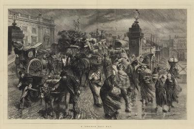 A London May Day-Godefroy Durand-Giclee Print