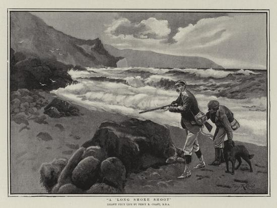 A Long Shore Shoot-Percy Robert Craft-Giclee Print