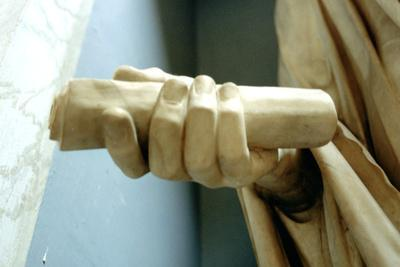 Detail of One of the Hands from a Statue of the Roman Emperor Titus
