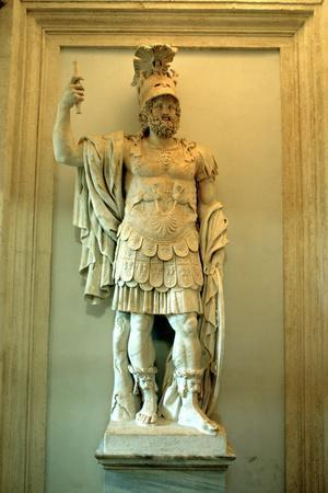 Roman Statue, Temple of Mars Ultor, Rome