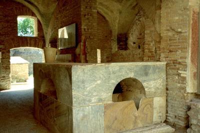 Roman Thermopodium, 3rd Century Ad