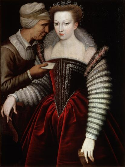 A Love Letter (Procures), Second Half of 16th Century--Giclee Print