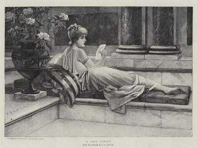 A Love Letter-Charles Frederick Lowcock-Giclee Print