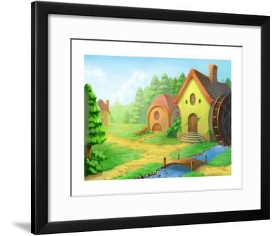 A Lovely House-Kyo Nakayama-Framed Giclee Print
