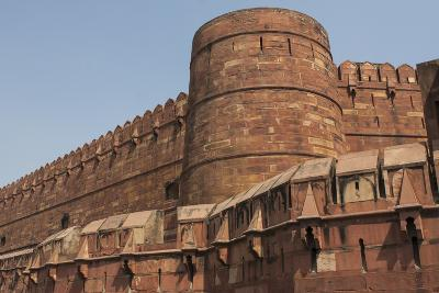 A Low Angle View of Agra Fort-Jonathan Irish-Photographic Print