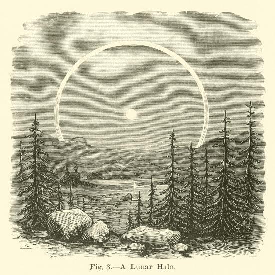 A Lunar Halo--Giclee Print