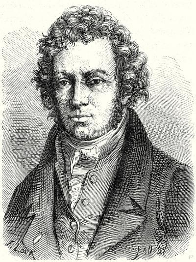 A.M. Ampère--Giclee Print