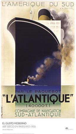L'Atlantique by A^M^ Cassandre