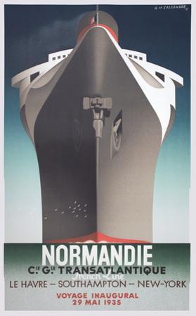 Normandie by A^M^ Cassandre