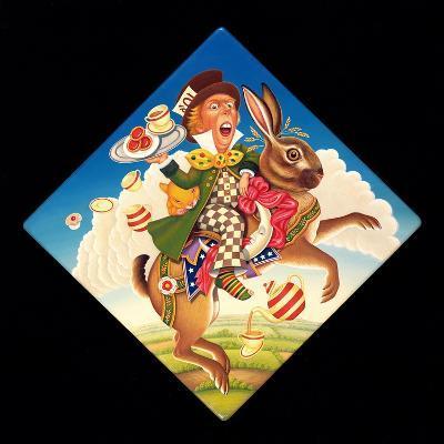 A Mad Tea Party, 2008-Frances Broomfield-Giclee Print