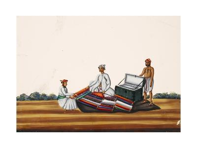 A Madras Hawker, from Thanjavur, India--Giclee Print