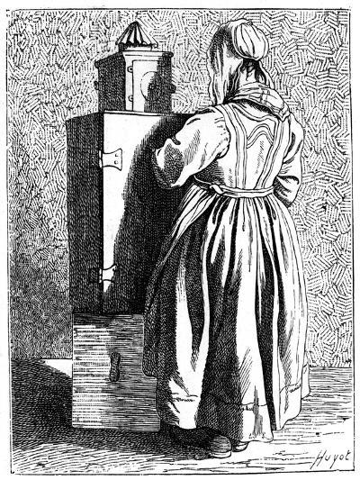 A Magic Lantern, 1737-1742- Bouchardon-Giclee Print