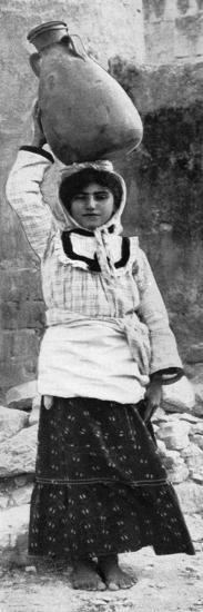 A Maid of Nazareth, 1926--Giclee Print