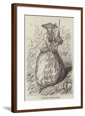 A Malvern Mountaineer--Framed Giclee Print