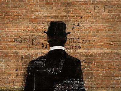 A Man in a Hat Who Turned His Back on Us-Dmitriip-Art Print