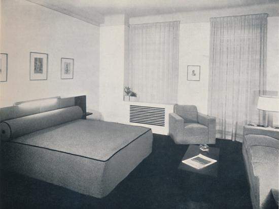 'A man's bedroom designed by Robert Heller Inc., New York', 1936-Unknown-Photographic Print