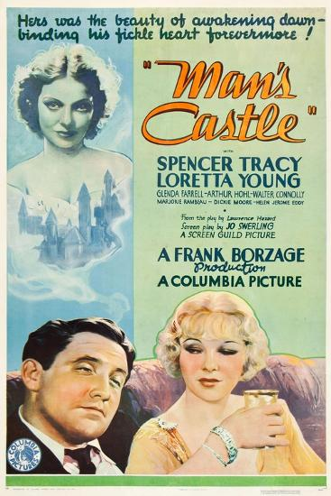 A Man's Castle, 1933, Directed by Frank Borzage--Giclee Print