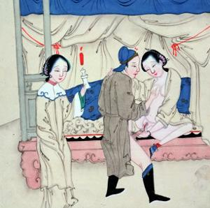 A Man with Two Women