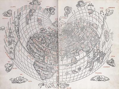 A Map of the World, 1511--Giclee Print