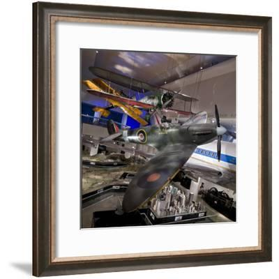 A Mark 1A Spitfire--Framed Photographic Print
