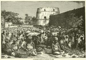 A Market Scene at Sofala in 1505