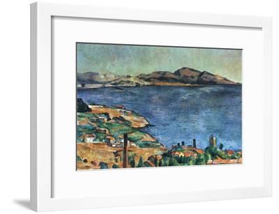 A Marseille, 1883-1885-Paul C?zanne-Framed Giclee Print