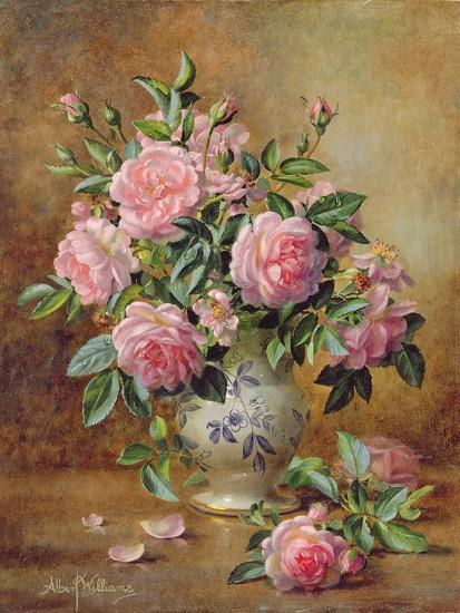 A Medley of Pink Roses-Albert Williams-Giclee Print