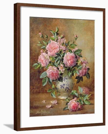 A Medley of Pink Roses-Albert Williams-Framed Giclee Print