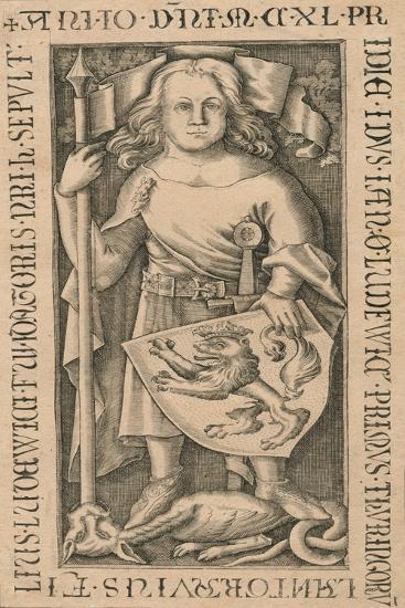 A memorial slate plaque, c18th century--Giclee Print