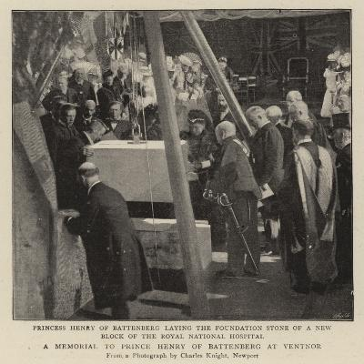 A Memorial to Prince Henry of Battenberg at Ventnor--Giclee Print