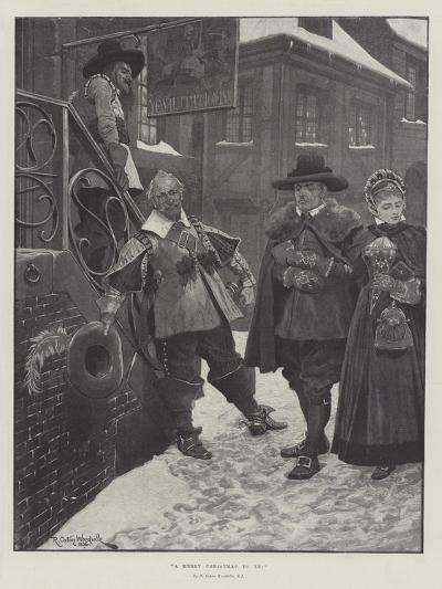 A Merry Christmas to Ye!-Richard Caton Woodville II-Giclee Print