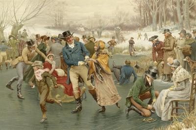 A Merry Christmas-Frank Dadd-Giclee Print