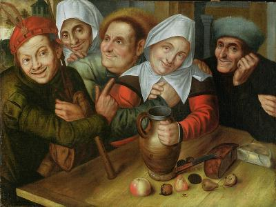 A Merry Company, C.1557-Jan Massys or Metsys-Giclee Print