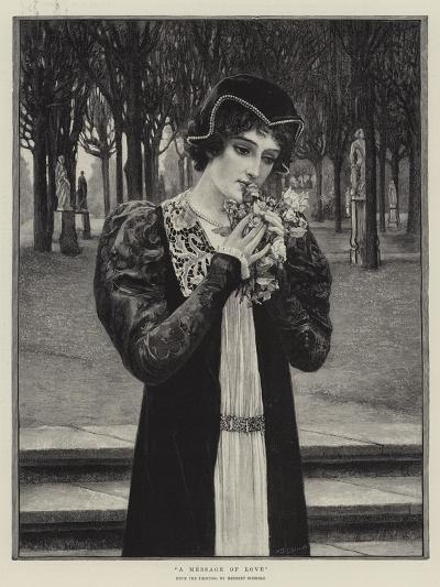 A Message of Love-Herbert Gustave Schmalz-Giclee Print