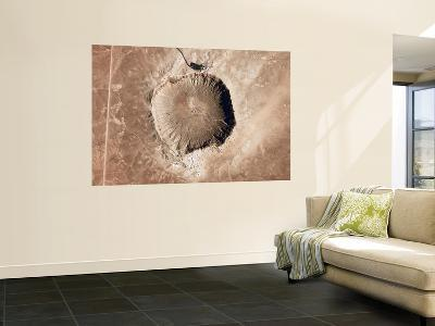 A Meteorite Impact Crater in the Northern Arizona Desert of the United States-Stocktrek Images-Wall Mural