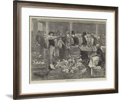 A Michaelmas Goose Fair--Framed Giclee Print