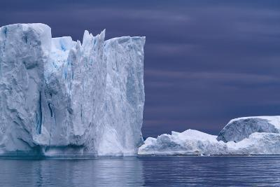 A Midnight Cruise around the Ilulissat Ice Fjord-Design Pics Inc-Photographic Print