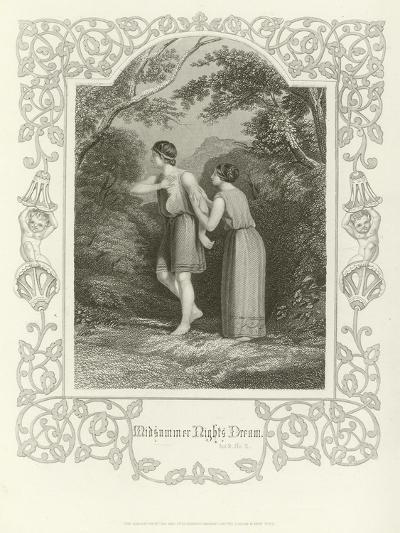 A Midsummer Night's Dream, Act II, Scene II-Joseph Kenny Meadows-Giclee Print