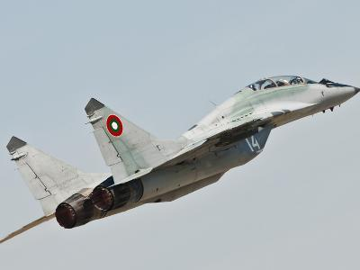 A Mig-29 of the Bulgarian Air Force-Stocktrek Images-Photographic Print